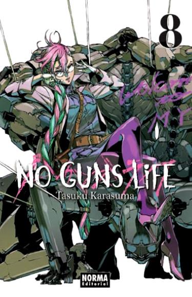 Lanzamientos Norma Editorial marzo 2020 No Guns Life - El Palomitrón