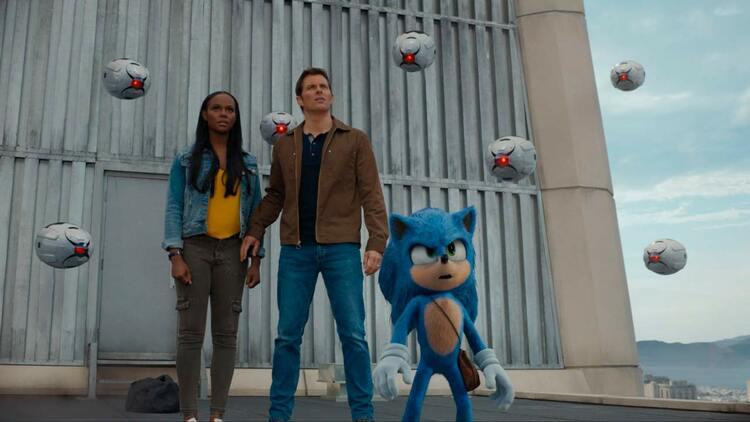James Marsden y Tika Sumpter, Sonic La película, EL PALOMITRÓN