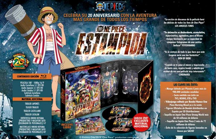 edición coleccionista de One Piece Estampida cartel edición - El Palomitrón