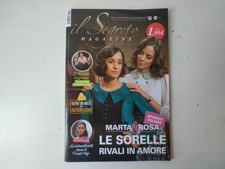 Revista, El secreto de Puente Viejo, EL PALOMITRÓN
