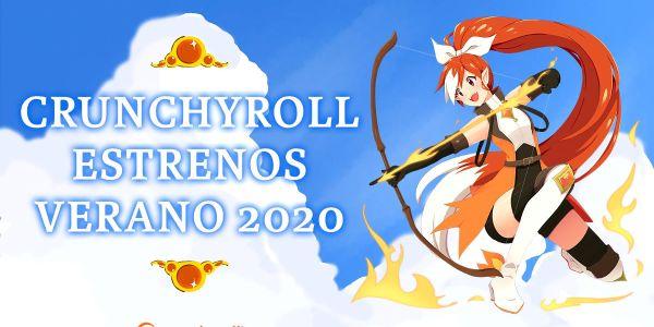 Crunchyroll anime verano 2020 destacada - El Palomitrón