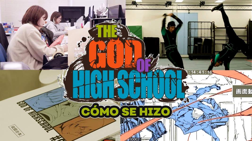 making of de The God of High School destacada - El Palomitrón