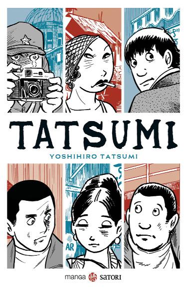 Lanzamientos Satori Ediciones septiembre 2020 Tatsumi portada - El Palomitrón