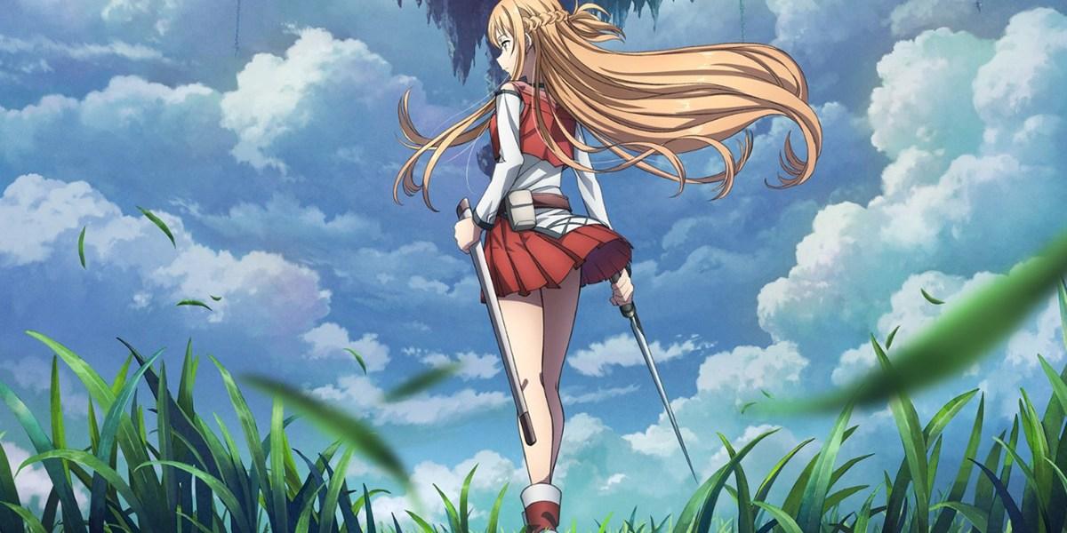 anime de Sword Art Online Progressive