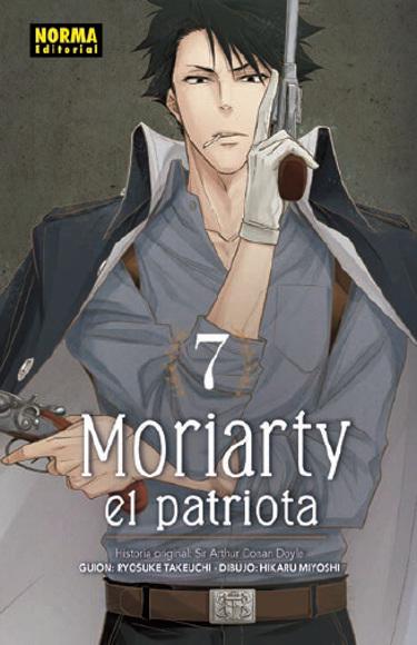 Lanzamientos Norma Editorial octubre 2020 Moriarty el patriota - El Palomitrón