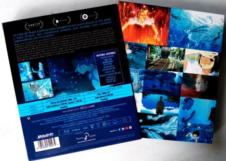 edición coleccionista de Los niños del mar Galería 3 - El Palomitrón