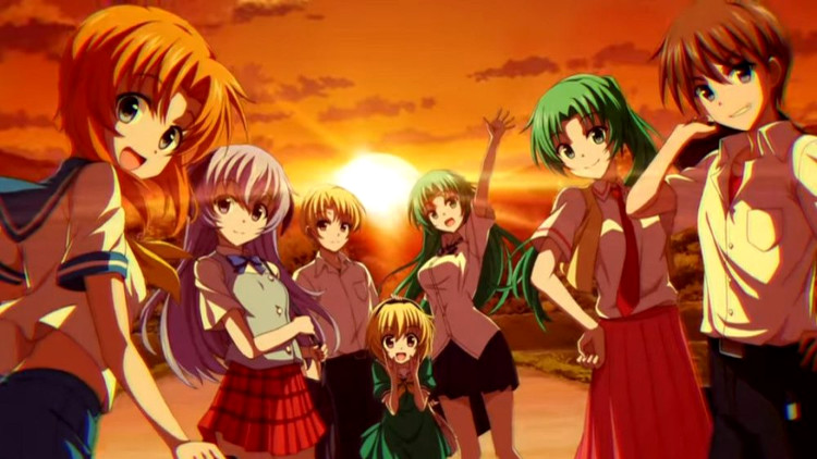 Cómo ver Higurashi no Naku Koro ni – GOU personajes - El Palomitrón