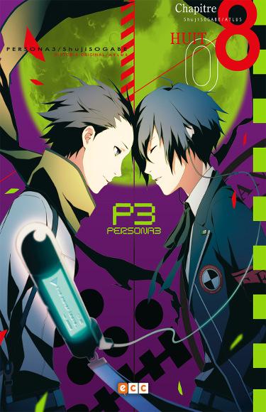 Lanzamientos ECC Ediciones noviembre 2020 Persona 3 - El Palomitrón
