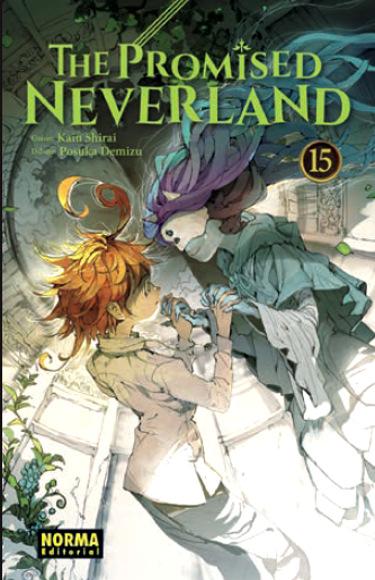 Lanzamientos Norma Editorial noviembre 2020 The Promised Neverland - El Palomitrón