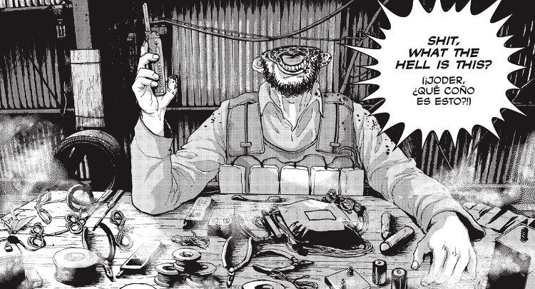 Reseña de Under Ninja panel manga - El Palomitrón