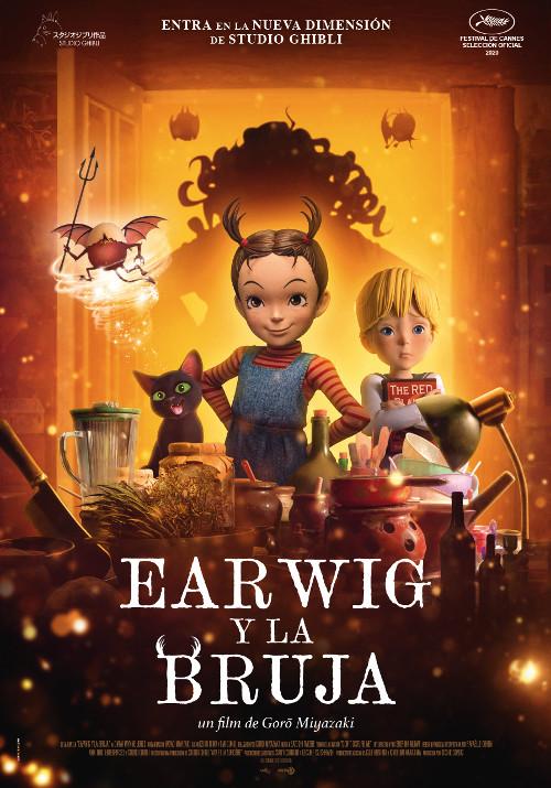 Fecha de estreno de Earwig y la Bruja en España destacada - El Palomitrón
