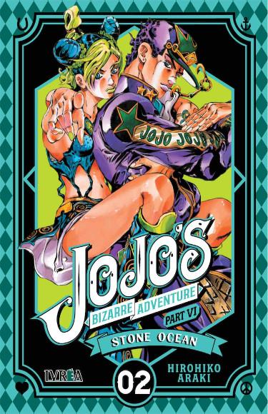 Lanzamientos Editorial Ivrea diciembre 2020 JoJo's Stone Ocean - El Palomitrón