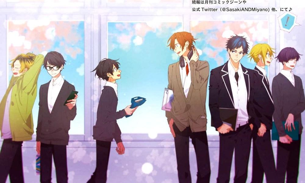 anime de Sasaki to Miyano destacada - El Palomitrón