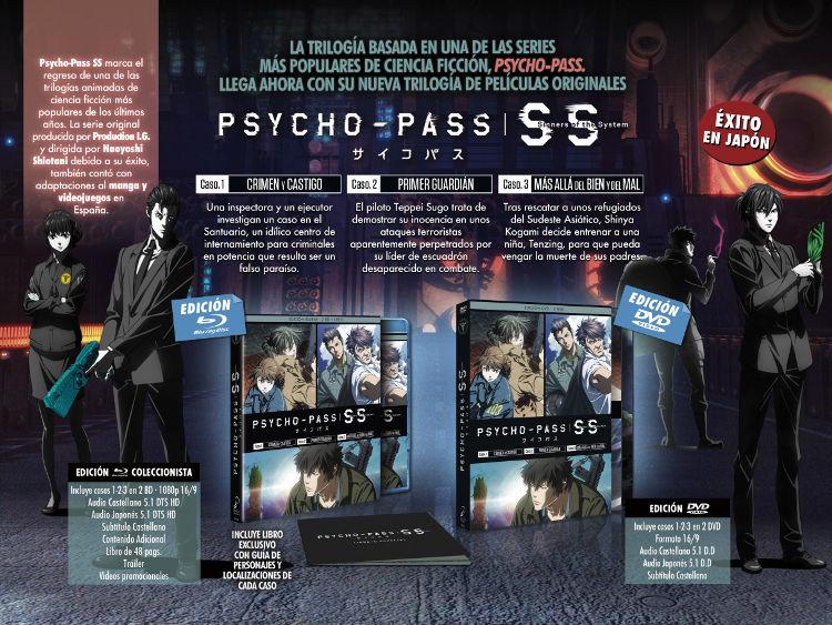 edición Blu-ray de Psycho-Pass Sinners of the System Galería 1 - El Palomitrón