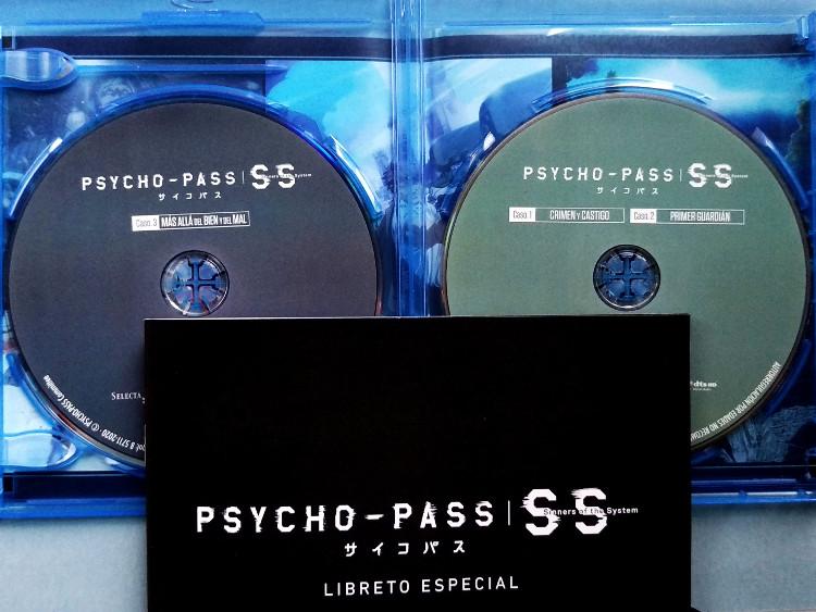 edición Blu-ray de Psycho-Pass Sinners of the System Galería 6 - El Palomitrón