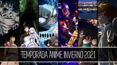 Banner lateral temporada anime invierno 2021 contenido relacionado - El Palomitrón