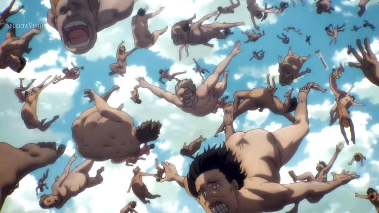 Crítica de Shingeki no Kyojin 4x01 titanes - El Palomitrón