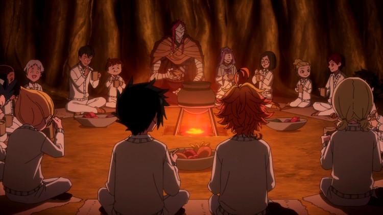 S2 de The Promised Neverland Son-Yu y Muyika 1 - El Palomitrón