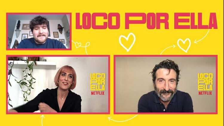 Aixa Villagrán y Luis Zahera, Loco por ella, EL PALOMITRÓN