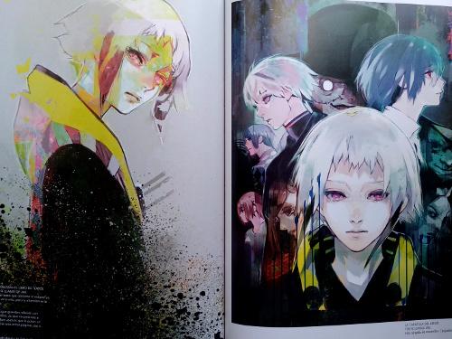 artbook Tokyo Ghoul Zakki re galería 10 - El Palomitrón