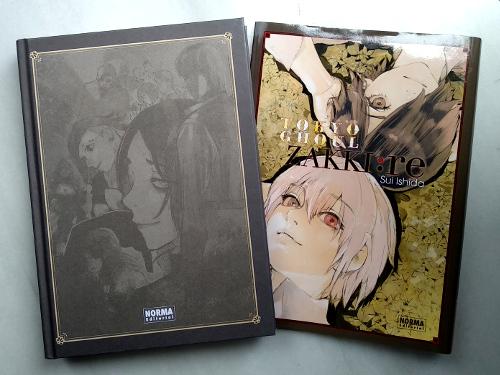 artbook Tokyo Ghoul Zakki re galería 2 - El Palomitrón