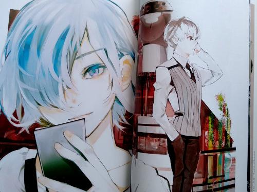 artbook Tokyo Ghoul Zakki re galería 3 - El Palomitrón