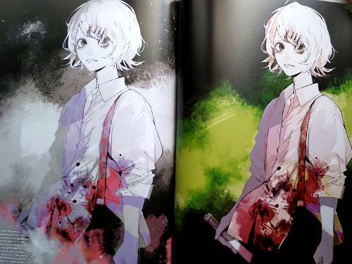 artbook Tokyo Ghoul Zakki re galería 5 - El Palomitrón