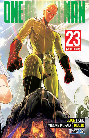 Lanzamientos Editorial Ivrea abril 2021 One Punch-Man - El Palomitrón