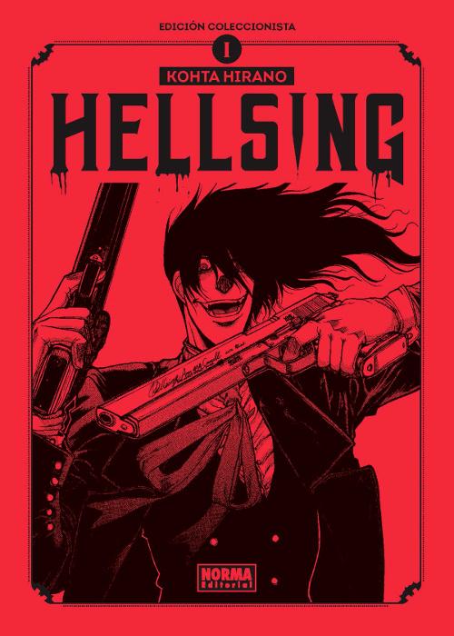 Reseña de la edición coleccionista de Hellsing portada - El Palomitrón