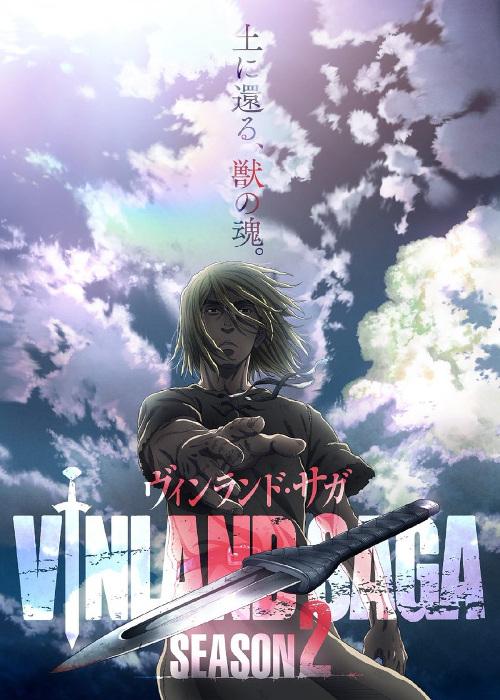 segunda temporada de Vinland Saga key visual - El Palomitrón
