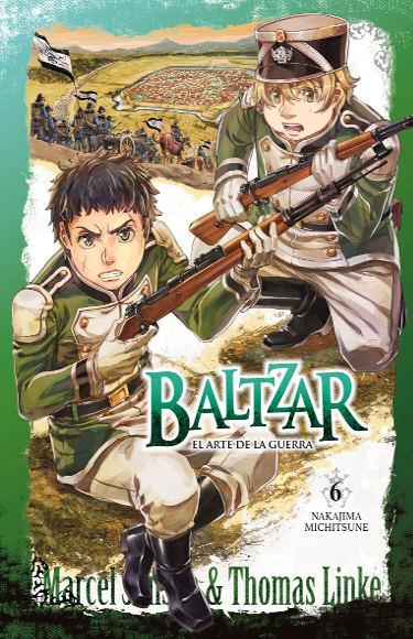 Lanzamientos Arechi Manga agosto 2021 Baltzar vol.6 - El Palomitrón
