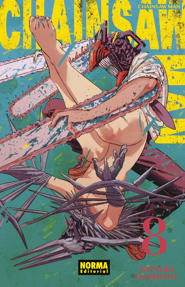 Lanzamientos Norma Editorial septiembre 2021 Chainsaw Man - El Palomitrón