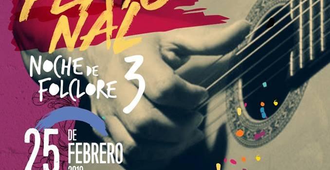 Tercera Noche de Folclore en la Peatonal de Carmen de Areco!!