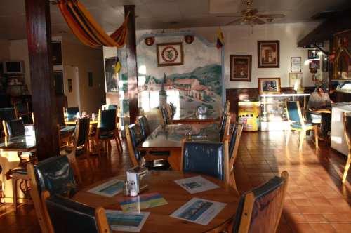 Restaurante Chibcha, toda una experiencia colombiana. (Fotos Agustín Durán/El Pasajero).