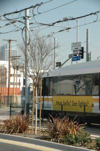 Expo Light Rail Train