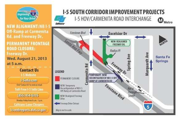 I-5 Carmenita  Road