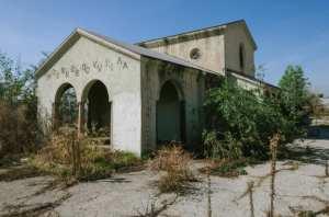 El antiguo almacén de Monrovia.