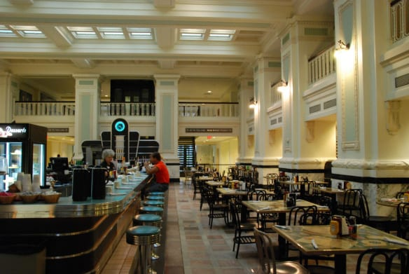 El restaurante Haver House en Union Station de Kansas City. Foto: Kevin C via Flickr creative commons.