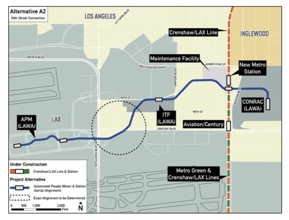 LAX mapa