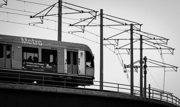 Tren de la Línea Dorada de Metro. Foto: Steve Hymon.
