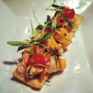 Ceviche del restaurante Redwhite+bluezz.