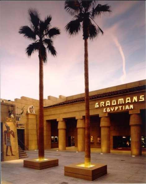 El histórico Egyptian Theatre, construido en 1922. Foto: Página oficial de Facebook.