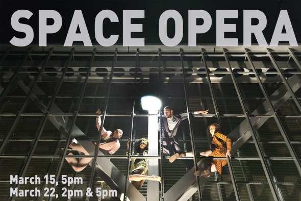 """Escena de """"Space Opera"""". Foto: Facebook."""