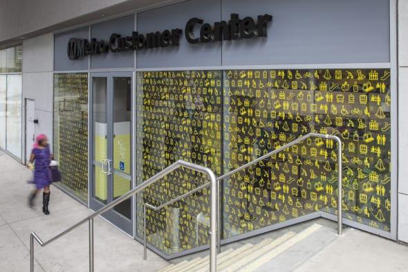 El nuevo Centro para Usuarios de Metro.