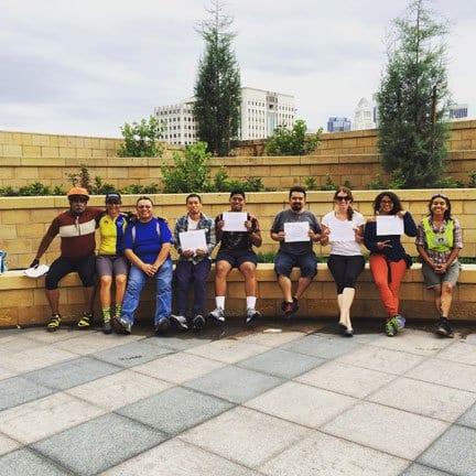 Participantes de una clase anterior. Foto: Dorothy Wong.