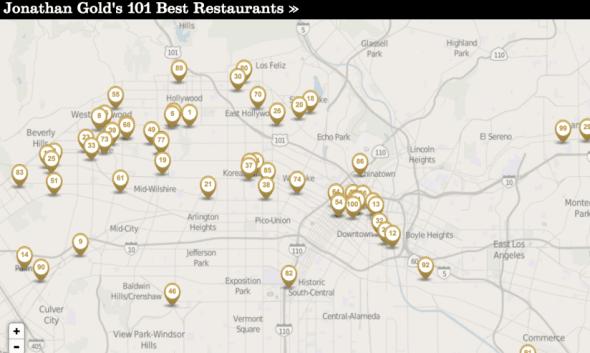 mapa restaurantes