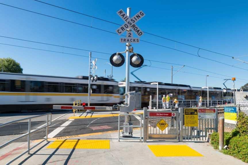 Estación Wardlow. Foto: Steve Hymon/Metro.