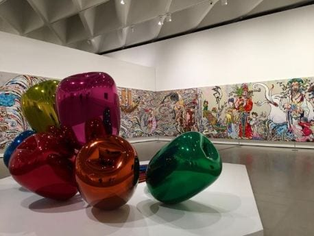 """""""Tulips"""", de Jeff Koons."""