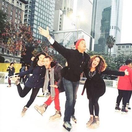 Fotos: Holiday Ice Rink DTLA Instagram.