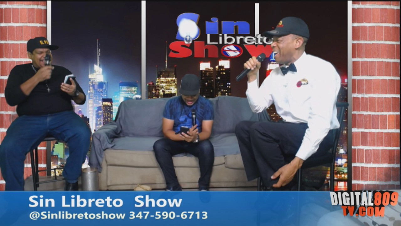 Sin Libreto Show EP47 Shino Aguakate Y Mr Manyao & H2 Digital809tv.com